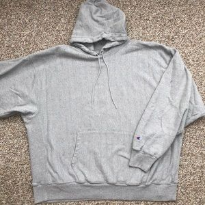 Champion hoodie sweatshirt 3XL Reverse Weave Gray